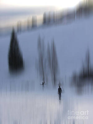 Kujo Photograph - Winter Walk by Karin Ubeleis-Jones