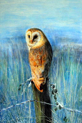 Painting - Winter Watch by Lynn Hughes