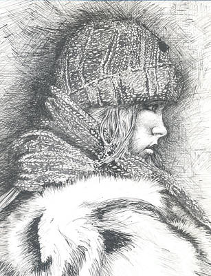 Winter Winter.... So What Art Print by Jovica Kostic