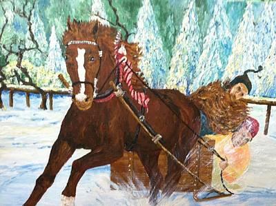 Robert Schmidt Painting - Winter Wonderful by Robert Schmidt