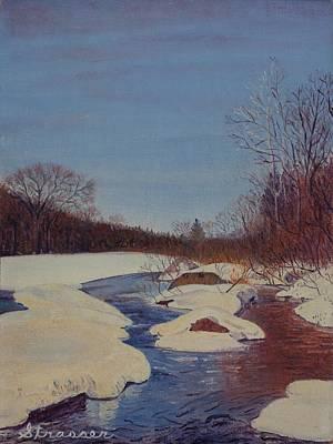 Painting - Winter Wonderland by Frank Strasser