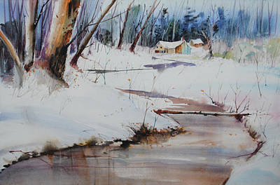 Painting - Winter Wonders by P Anthony Visco