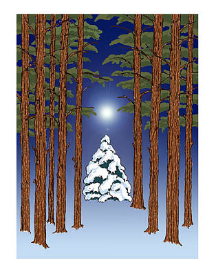 Winter Woods 2 Art Print