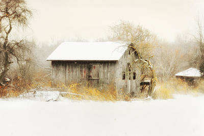 Art Print featuring the photograph Winters Rage by Mary Timman
