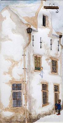 Painting - Wintertime by Annemeet Hasidi- van der Leij