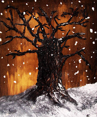 Wintertree 3 Art Print