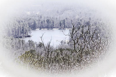 Photograph - Wintery Mountain View by Gwen Vann-Horn