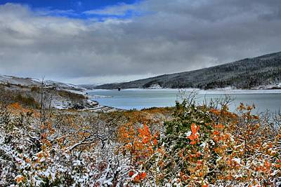 Photograph - Wintry Dusting by Adam Jewell
