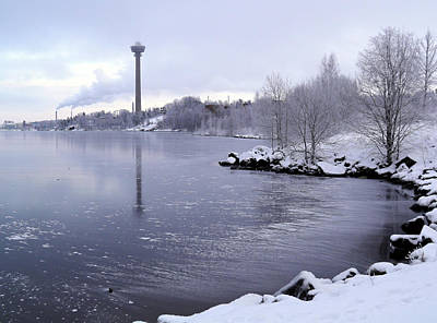 Photograph - Wintry Tampere by Sami Tiainen