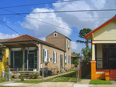 Shotgun Houses Wall Art - Photograph - Wired In by Dominic Piperata