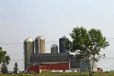 Photograph - Wisconsin Farm 3 by Pamela Walrath