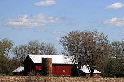 Photograph - Wisconsin Farm by Kay Novy
