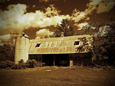 Photograph - Wisconsin Hay Barn by Ms Judi