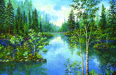 Painting - Wisconsin Summer by Lou Ann Bagnall