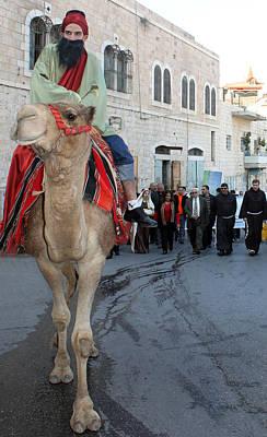 Wise Man During The Christmas Parade Original by Munir Alawi