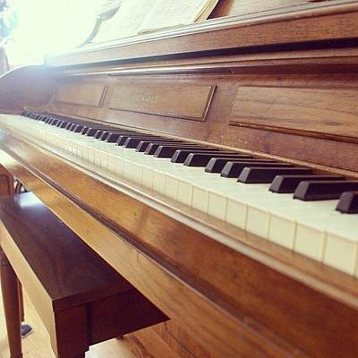 Piano Wall Art - Photograph - Wish I Could Play This! #ig #instagood by Jackie Ayala