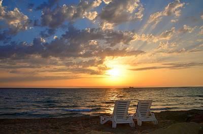 Wish You Were Here - Cyprus Art Print