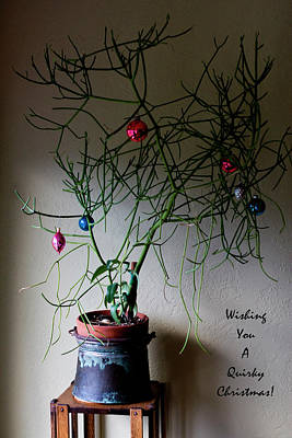 Photograph - Wishing You A Quirky Christmas by Lorraine Devon Wilke