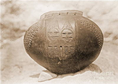 Fired Clay Photograph - Wishram Bowl by Padre Art