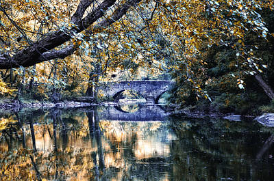 Creek Photograph - Wissahickon Creek At Bells Mill by Bill Cannon