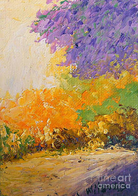 Painting - Wisteria by Fred Wilson