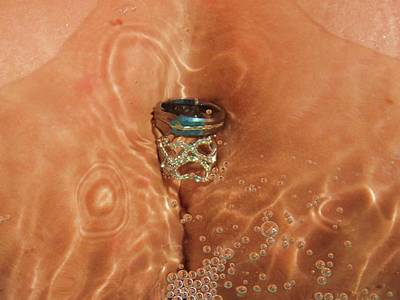 Naked Vagina Photograph - With This Ring by Bare Ass Art Studio
