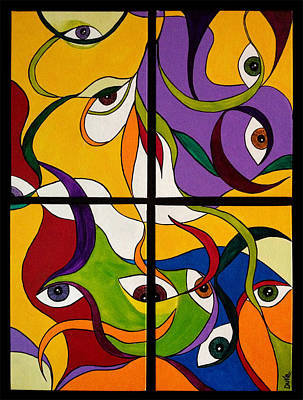 Within A Glance Original by Duka Lourdes Aguirre