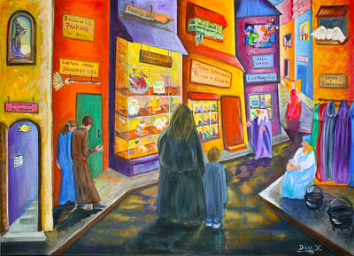Painting - Wizard Alley by Diana Haronis