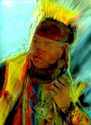 Painting - Wokini..seeking A New Beginning by FeatherStone Studio Julie A Miller