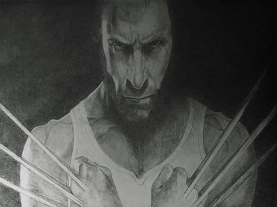 Wolverine Art Print by Glenn Daniels