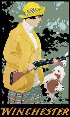 Upland Game Birds Painting - Woman And Model 12 by Unknown