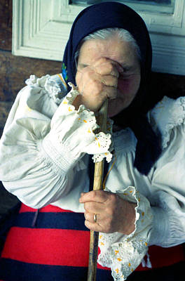 Photograph - Woman From Maramures  by Emanuel Tanjala