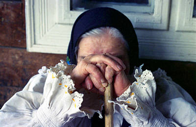 Photograph - Woman From Maramures Romania by Emanuel Tanjala