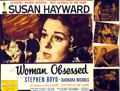 Fid Photograph - Woman Obsessed, Susan Hayward, Stephen by Everett