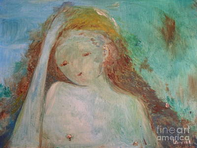 Woman Of Sorrows Art Print by Laurie L