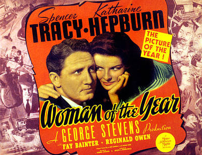 Woman Of The Year, Spencer Tracy Art Print by Everett
