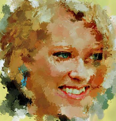 Woman Portrait Art Print