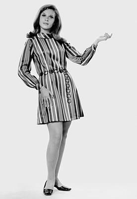 Woman Striking A Pose Art Print by George Marks
