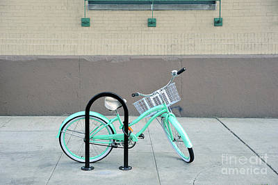 Photograph - Woman's Bicycle  by Ed Rooney