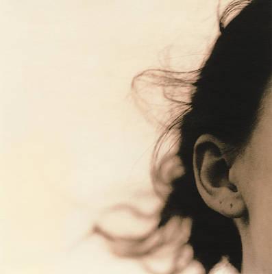 Woman's Ear Art Print
