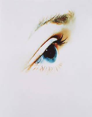 Woman's Eye Art Print by Cristina Pedrazzini