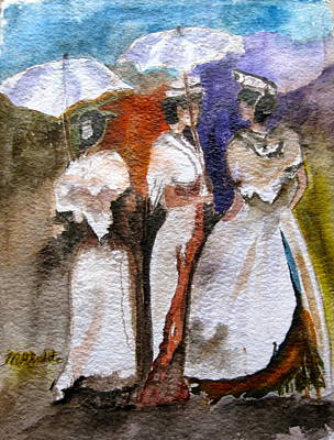Women Of Arles Original by MaryAnne Ardito