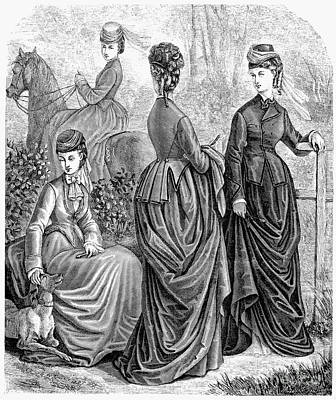 Equestrian Fashion Photograph - Womens Fashion, 1873 by Granger
