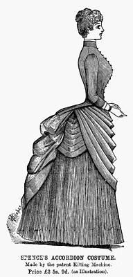 Womens Fashion, 1884 Art Print by Granger