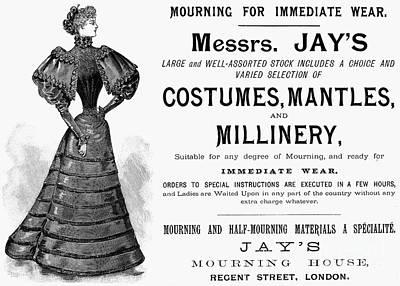 Photograph - Womens Fashion, 1893 by Granger