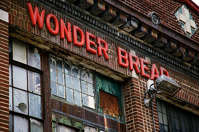 Wonder Bread Art Print by Claude Taylor