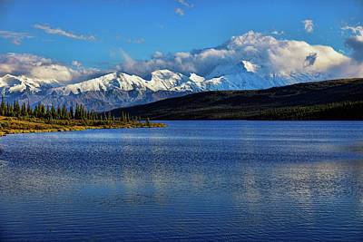 Photograph - Wonder Lake by Rick Berk