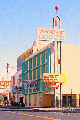 Photograph - Wonder Lodge by Wingsdomain Art and Photography