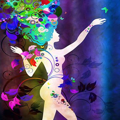 Digital Art - Wonderful by Angelina Vick