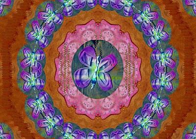 Freedom Mixed Media - Wonderful Rose Petal Art by Pepita Selles